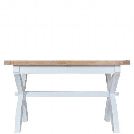 Toulouse White 1.8m Cross Extending Table